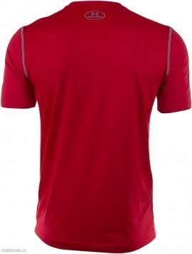 Under Armour T-shirt Raid-SS Czerwony