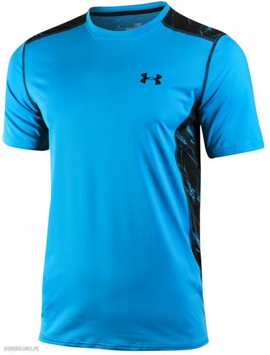 Under Armour T-shirt Raid-SS Blue