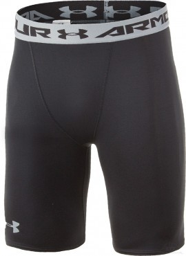Under Armour Heatgear Armour Compression Shorts Long Black