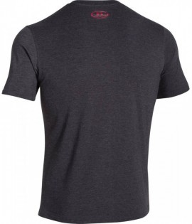 Under Armour Charged Cotton® Sportstyle Logo T Czarna