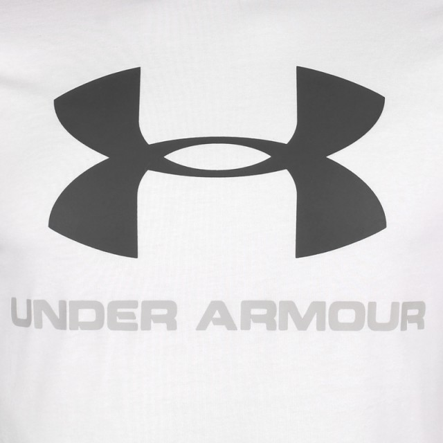 Under Armour Charged Cotton® Sportstyle Logo T White
