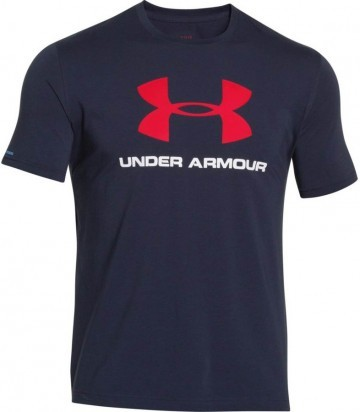 Under Armour Charged Cotton® Sportstyle Logo T Navy