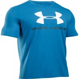 Under Armour Charged Cotton® Sportstyle Logo T Blue