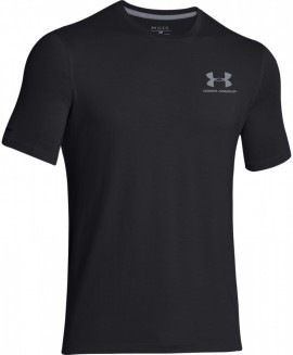Under Armour CC Left Chest Lockup Black