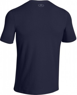 Under Amorur Chargerd Cotton Left Chest Lockup Navy