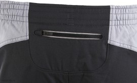 "Under Armour Launch 5"" short 2 in 1 Black/Grey"