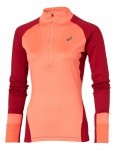 bluza damska Asics LS Winter 1/2 Zip Ruby