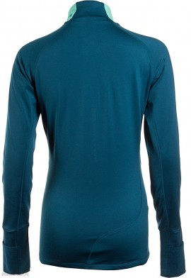 bluza damska Asics LS Winter 1/2 Zip 8123 Blue