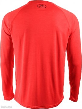 Under Armour UA Tech LS Novelty Tee Red