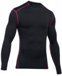 Under Armour Coldgear Armour Compression Mock Black Red