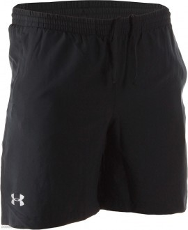 "Under Armour Lauch Woven 7"" Run Short czarne"