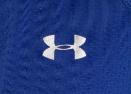 Under Armour Heatgear Armour SS Niebieski