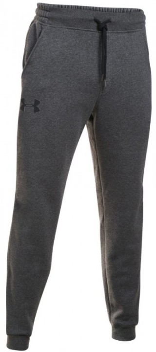 Under Armour Rival Cotton Jogger Grey Black