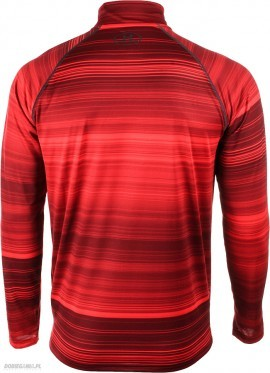 Under Armour UA Tech Printed 1/4 Zip Red