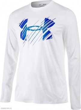 Under Armour Tech Fade LS White