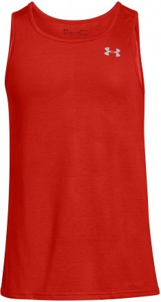 Under Armour Threadborne Streaker Singlet Red