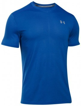 Under Armour Threadborne Streaker Short Sleeve Blue