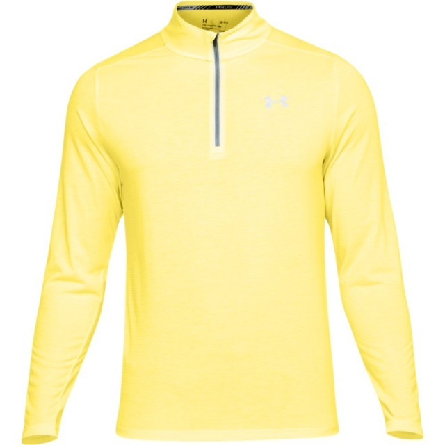 Under Armour Threadborne Streaker 1/4 Zip Yellow