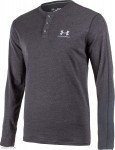 Under Armour Style Triblend Henley Grey