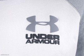 Under Armour Triblend LC Lockup Crew White