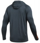 Under Armour Tech Popover Henley Gray Orange