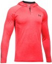 Under Armour Tech Popover Henley Red