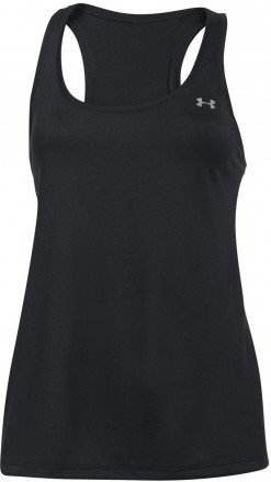 Under Armour Tech Tank Solid Black