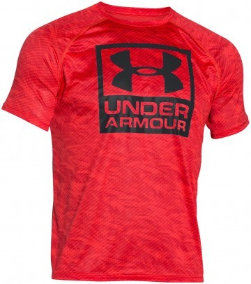 Under Armour Boxed Logo Printed Red
