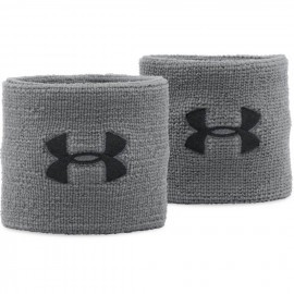 Under Amour Performance Wristbands Grey