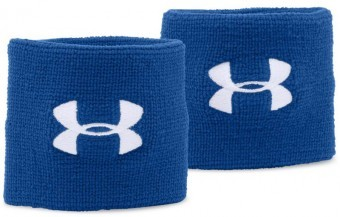 Under Armour Performance Wristbands Blue