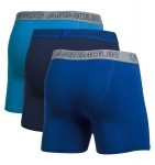 Charged Cotton Stretch Boxerjock 3-Pack Black Blue