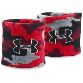 Under Armour Jacquarded Wristband Red