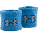 Under Armour Jacquarded Wristband Blue