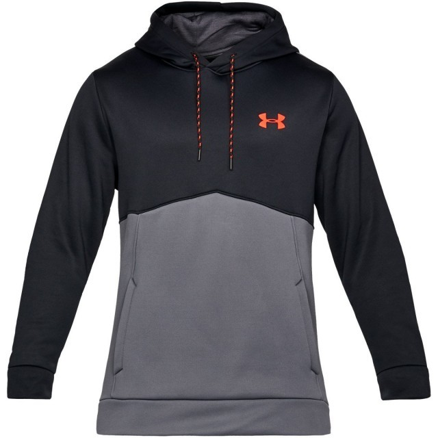 Under Armour AF Icon Solid Po Hoodie Grey Black
