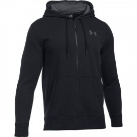 Under Armour Storm Rival Cotton Full Zip Black