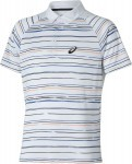 Asics Club Graphic Short Sleeve Polo 0106 Bia�y
