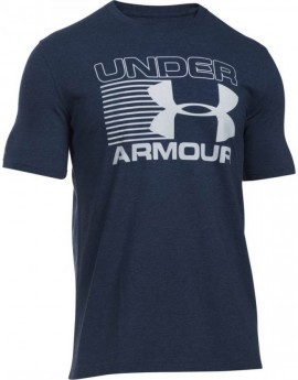 Under Armour Blitz Logo T Granatowy