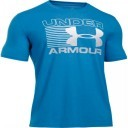 Under Armour Blitz Logo T Blue