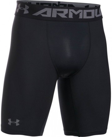 Under Armour HeatGear Armour 2.0 Long Short Black