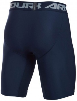 Under Armour HeatGear Armour 2.0 Long Short Navy Grey