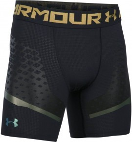 Under Armour HeatGear Armour Zonal Comp Short Black