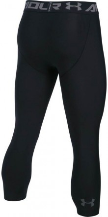Under Armour Hg Armour 2.0 3/4 Legging Black