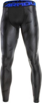 Under Armour HeatGear Armour 2.0 Novelty Legging Black/Blue