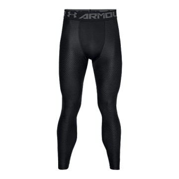 Under Armour HeatGear Armour 2.0 Novelty Legging Black Grey