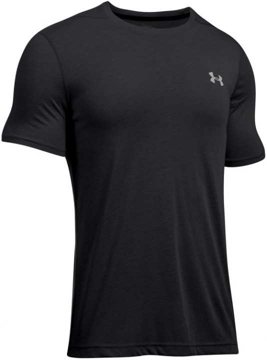 Under Armour Threadborne Fitted SS Graphite Glack