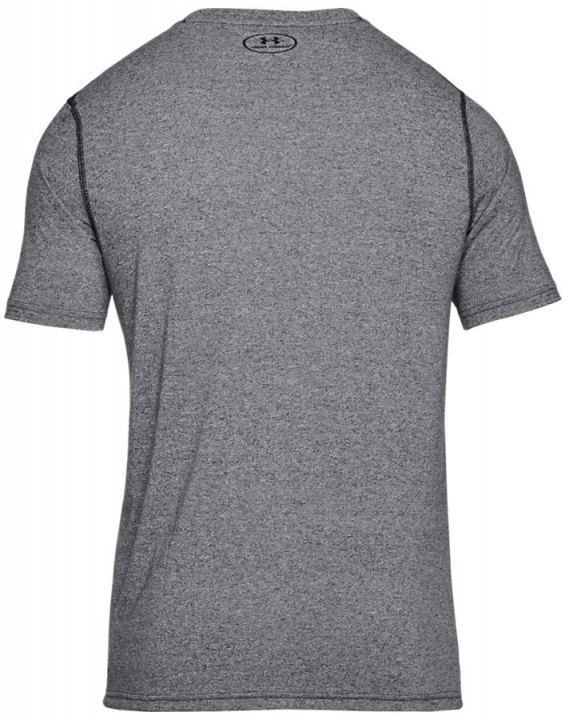 Under Armour Threadborne Fitted Short Sleeve Grey