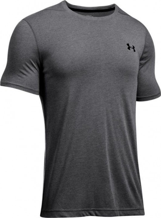 Under Armour Theadborne Fitted Short Sleeve Grey