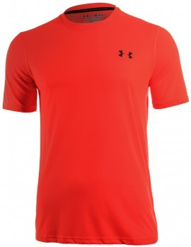 Under Armour Theadborne Fitted Short Sleeve Orange