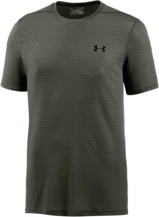 Under Armour Threadborn FTD Emboss ShortSleeve DownTown Green