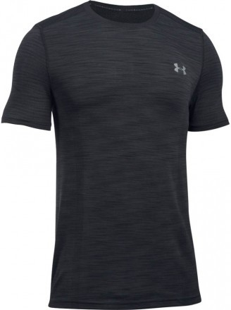 Under Armour Threadborne Seamless ShortSleeve Black